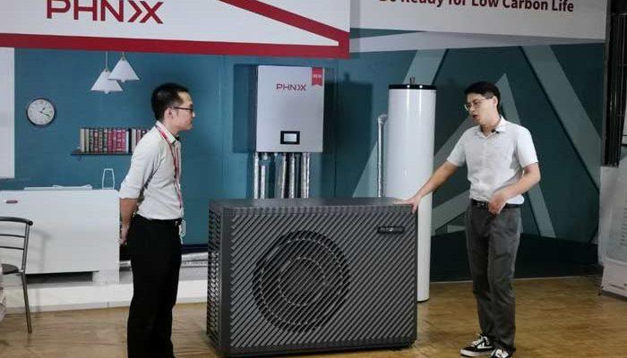 PHNIX presenta bomba de calor para calefacción, refrigeración