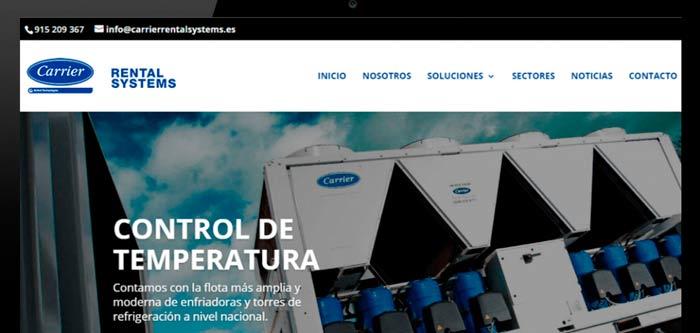 Nueva web de Carrier ofrece ayuda y soporte técnico en climatización