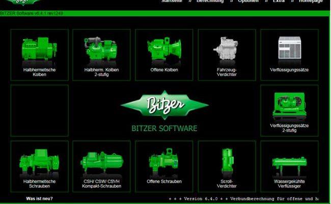 Nueva app para la selección de refrigerantes de Bitzer